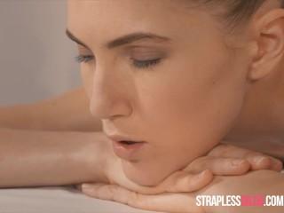 Lesbian seducing straight friend porn
