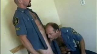 Cock Lovin' Bear Cops Raw analized