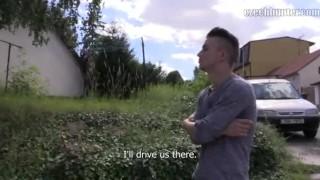 czech hunter reality threesome