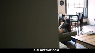SisLovesMe- Helpful step sis finally helps me cum Fitness amateur