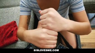 SisLovesMe- Helpful step sis finally helps me cum porno