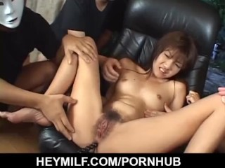 Time for hardcore toy porn along young Itsuka