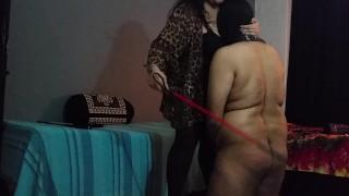 BBW Mistress Makali Smothers loser with Her massive tits big boobs indian bbw indian femdom cfnm humiliation femdom