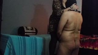 BBW Mistress Makali Smothers loser with Her massive tits  big boobs cfnm humiliation indian bbw indian femdom femdom