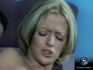 Christal's tight butthole got widen by a huge cock