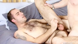 Fraser Jacs takes a cock in his ass