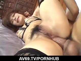 Pussy Cum Fart Sara Nakamura Deals Strong Dicks In Each Of Her Holes, Bondage Milf
