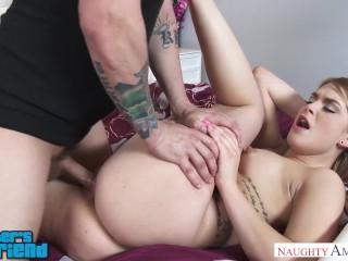 Teen hottie Abby Paradise fucks her friend's brother - Naughty America