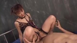 Deep penetration stimulation for sensual Mao Saito Creampie japanese