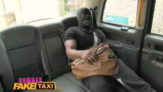 FemaleFakeTaxi Busty blonde creampied by criminal after blowjob Big big