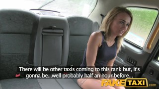 FakeTaxi Great ass and tight shaved pussy Housewife hardcore