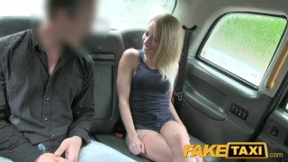 FakeTaxi Great ass and tight shaved pussy Blonde mature