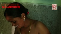 Big Boobs Mom Wet Big Ass Fucked By Step-Son In The Bathroom