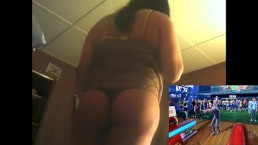 Girl In Panties play kinect