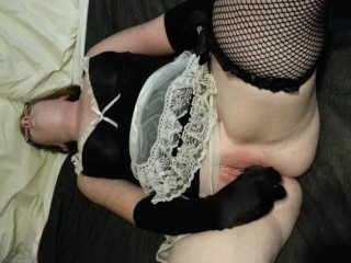 Another Oldie: Me Playing with Myself as My Boyfriend Films It!