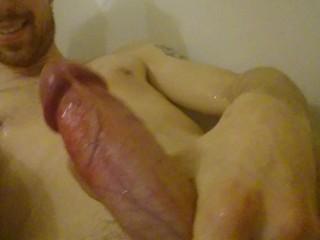 in bath, otter