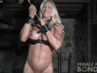 Muscular jill still bound and pissed off - 1 part 9