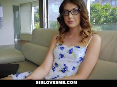 SisLovesMe - Foreign Step-Sis Loses Innocence