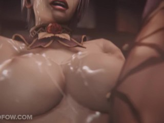 Soul Calibur Ivy Gang Bang