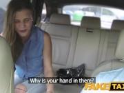 FakeTaxi Леди хочет увидеть большой член водителя