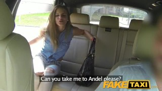 FakeTaxi Lady wants to see drivers big cock  big-cock outdoor outside point-of-view blowjob prague hot bald-pussy camera faketaxi young spycam czech dogging teenager