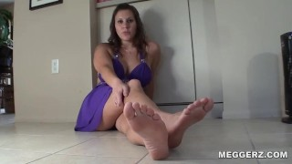 Foot Cuckold  kink feet denial cuckold humiliation point-of-view foot cuck femdom pov cei sph