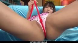 Savage toy porn along lustful Megumi Shino