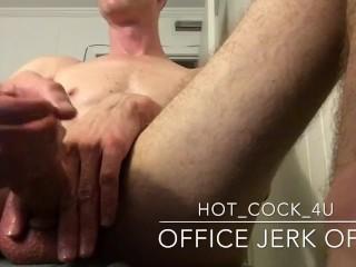 office jerk off
