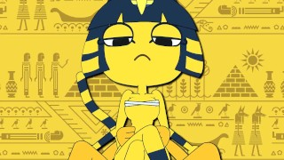 Ank - Minus8 Ankha Ride Throatpie moaning