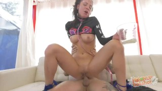 Aidra Fox Gets Anally Obliterated porno