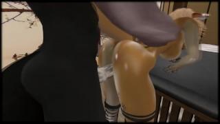 Massage session ( Furry / Yiff )