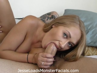 Free Full Length Pussy Movies Hot Blonde Kandace Kayne Is Horny For Some Cock And Chokes Down