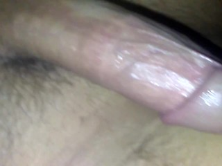 Whole hand in pussy