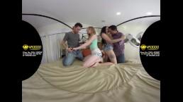 VR3000 - Girlfriend Swap - Katy Kiss & Megan Sage - 180° HD VR Porn