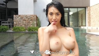 Exotic4K - Busty asian Jayden Lee lubed ass fucked hard big cock bigtits hardcore asian big tits exotic4k blowjob babe titty fuck anal 4k ass fuck anal sex jayden lee oiled busty facial