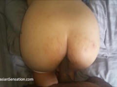 couple hd Pregnant Asian Wife Gets An Anal Creampie From A BBC