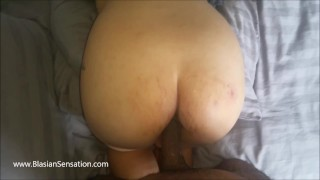 wife gets anal creampie from bbc