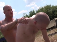 White bareback hunks outdoor fetish fuck