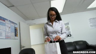 How to sexually harass your secretary properly  big ass teen babe glasses bangbros booty ebony pornstar hardcore young butt teenager arianna knight bangbrosnetwork