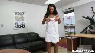 How to sexually harass your secretary properly  big ass teen babe glasses bangbros booty ebony pornstar hardcore young arianna knight butt bangbrosnetwork teenager