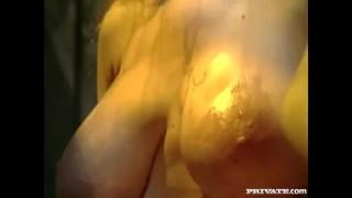Whores assfucked the three waiter by private retro