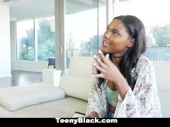 TeenyBlack – Petite Dark Mocha Babe First Porn
