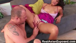 RealAsianExposed - Fucking My Asian Step-Sister