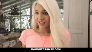 DaughterSwap - Daughters Fucked During Sleepover  blonde cumshot foursome orgy hardcore smalltits brunette daughter father shaved facialize bigcock group facial daughterswap dad