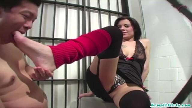 She fucks him with handjob 6