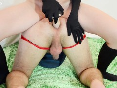 Strapon and pegging compilation (Real amateur femdom)