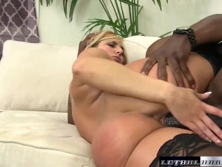 Black Cocks Matter – Teen Kate England rides her first BBC and cums