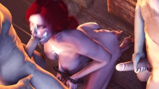 Triss Merigold The Witcher BJ