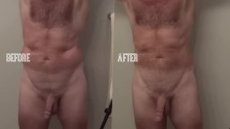 Before and After Taking a Shower with My Bathmate X40 Penis Pump