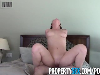 Image PropertySex – Young highly motivated real estate agent wild sex with client